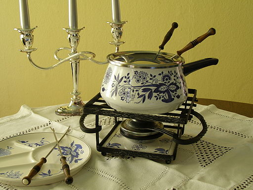 Antique Fondue Pot