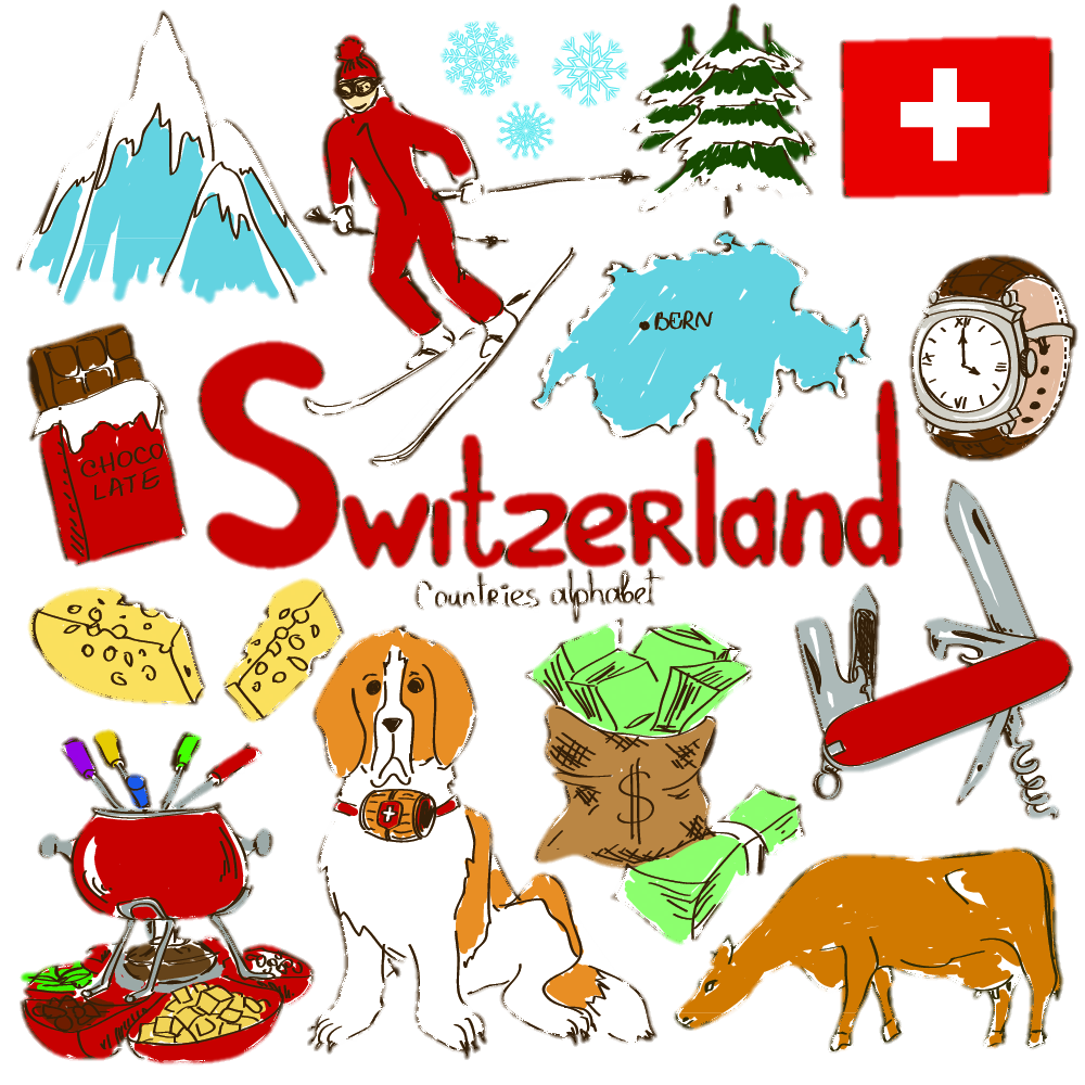 Switzerland the Home of Fondue